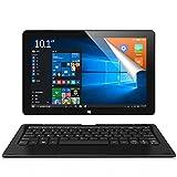ALLDOCUBE iwork10 Pro 2in1タブレットPC(キーボード付)、10.1インチ1920 x1200 IPSスクリーン、Windows 10+Android 5.1、Intel Z8350クアッドコア、4GB RAM、64GB ROM、USBタイプ-C、HDMI出力、ブラック(ALLDOCUBE正規代理店)
