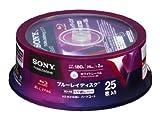 ソニ ー ブルーレ 25BNE1VDPP2 【日本製】 録画用BD-RE 25枚 2倍速 25GB ワイ ドプリンタブル Sony Bluray