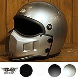 マッドマッスク J01 ジェットヘルメット シルバーメタリック 乗車用 SG/PSC規格品
