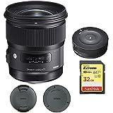 Sigma 24mm f / 1.4DG HSM広角レンズ(アート) for Nikon DSLRカメラマウント( 401–306) with Sigma USB Dock for Nikonレンズ& Sa..