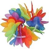 Silk 'N Petals Rainbow Floral Wristlets / Anklets シルク'N花びらレインボー花Wristlets /アンクレット?ハロウィン?クリスマス?