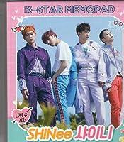 韓国 K-POP ☆SHINee シャイニー☆ MEMOPAD メモパッド 4タイプ 200シート
