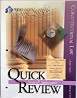 Constitutional Law: Quick Review Sum & Substance (Miscellaneous Series)