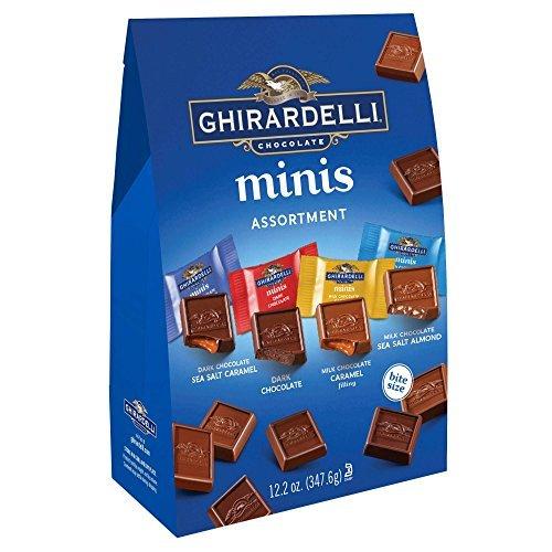 Ghirardelli XL Assorted Minis Sub ギラデリ XLアソートミニサイズサブ350g1袋 [並行輸入品]