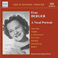 Erna Berger: A Vocal Portrait by Erna Berger (2006-08-01)