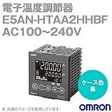 オムロン(OMRON) E5AN-HTAA2HHBF 電子温度調節器 プログラムタイプ 端子台タイプ 単相・三相ヒータ用 AC100~240V ブラック (出力ユニット方式) NN