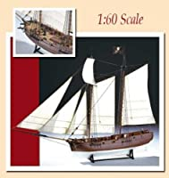 Adventure Pirate Ship - Wooden Model Ship Kit by Amati [並行輸入品]