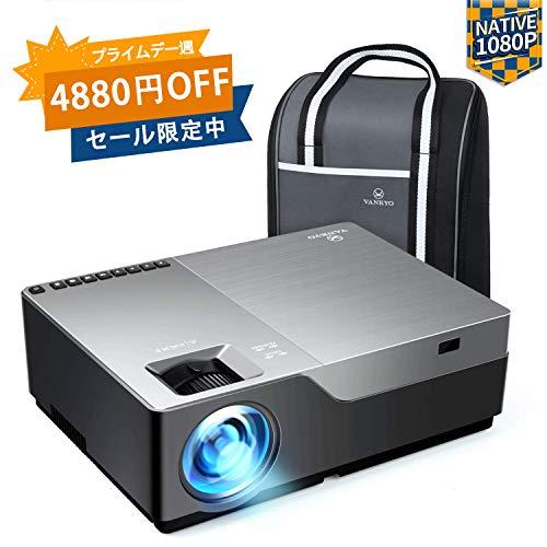 Vankyo 1080pフルHDプロジェクターV600 デー...