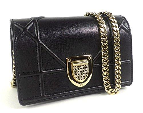 Christian Dior(クリスチャンディオール) チェーンショルダー Diorama Wallet on Chain [並行輸入品]