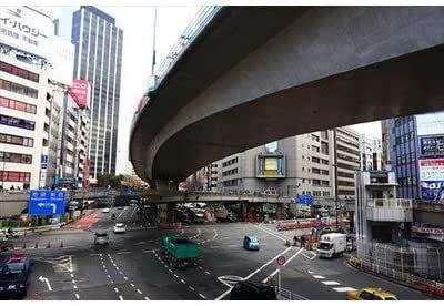 2013年東京都渋谷警察署前交差点六本木通りと明治通りのポストカード 葉書はがきハガキ