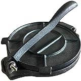 Premium Grade-8 inch Cast iron tortilla press.Tortillas presser maker,comes pre-seasoned in Black.