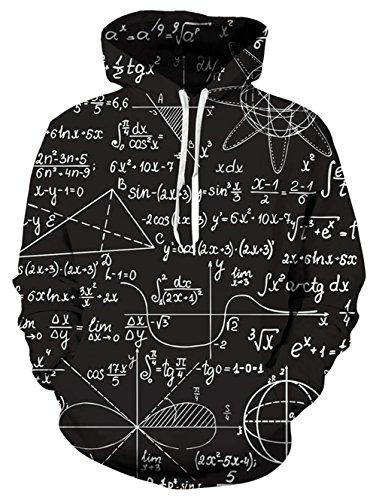 NEWISTAR 男らしい シルエット 面白い 動物 宇宙柄 星空 アニマル 裏起毛 アメカジ おもしろtシャツ かっこいい 男女適用 トップス 数学