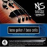 D'Addario NS Electric Bass/Cello String Set 4/4 Scale Medium Tension [並行輸入品]
