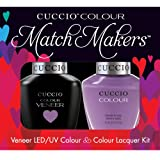 Cuccio MatchMakers Veneer & Lacquer - Cheeky in Helsinki - 0.43oz / 13ml Each
