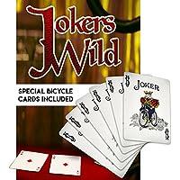 [マジック メーカー]Magic Makers Jokers Wild Card Trick Special Bicycle Trick Cards Included 6630 [並行輸入品]