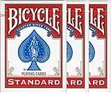 BICYCLE(バイスクル) 808 ライダーバック STANDARD トランプ ポーカーサイズ 赤 3デックシュリンクパック