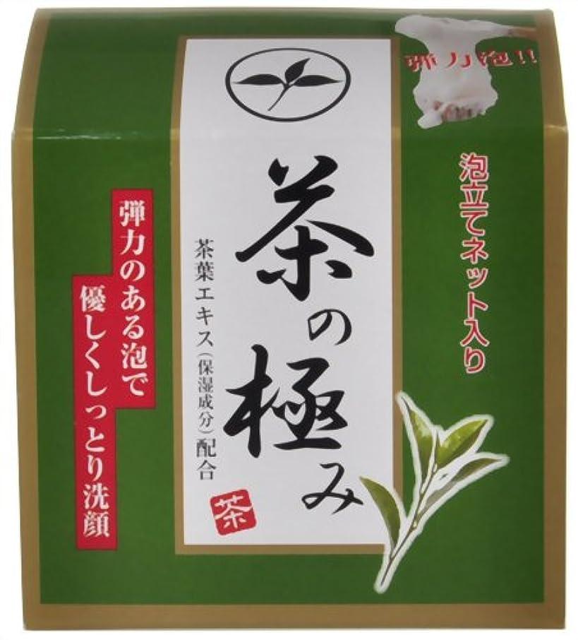 ごちそうアクセシブル普通の茶の極み 洗顔石けん 90g