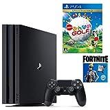 【プライムデー特別価格】PlayStation 4 Pro フォートナイト ネオヴァーサバンドル + NewみんなのGOLF セット (ジェット・ブラック) (CUH-7200BB01)