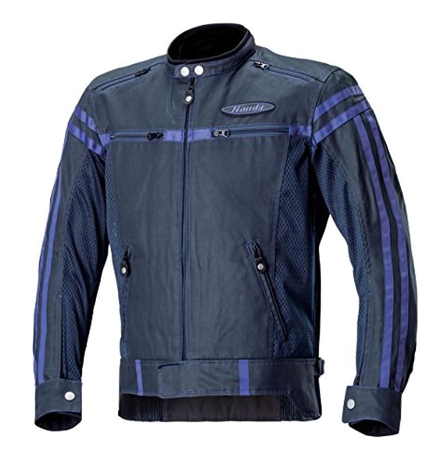 百万チップ患者Honda(ホンダ)  ヴィンテージライダースジャケット ネイビー Sサイズ 0SYEX-X3B-VS
