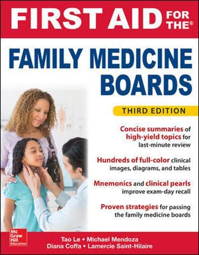 Download First Aid for the Family Medicine Boards, Third Edition (1st Aid for the Family Medicine Boards) 1259835014
