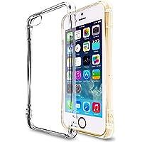 natura(ナチュラ) iPhone SE ソフトケース クリアケース カバー 円弧状 アークライン 液晶保護フィルム 耐衝撃エアクッション ストラップホール 高品質TPU素材 iPhone 5/5S ip5arc