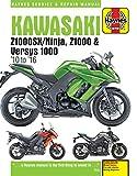 ヘインズ整備書「カワサキ Z1000/sx/Versys 2010〜16」サービスマニュアル
