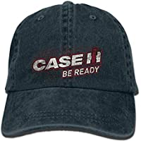 SGVBL-O Hip hop Baseball caps Funny hat Men Novelty Women Case IH Be Ready for Red Adult