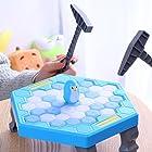 クラッシュアイスゲーム ペンギントラップボードゲーム Ice Breaking Save the Penguin 子供の益智のおもちゃ Miniテーブルゲーム パズル 親子ゲーム 家族や友人に向けゲーム