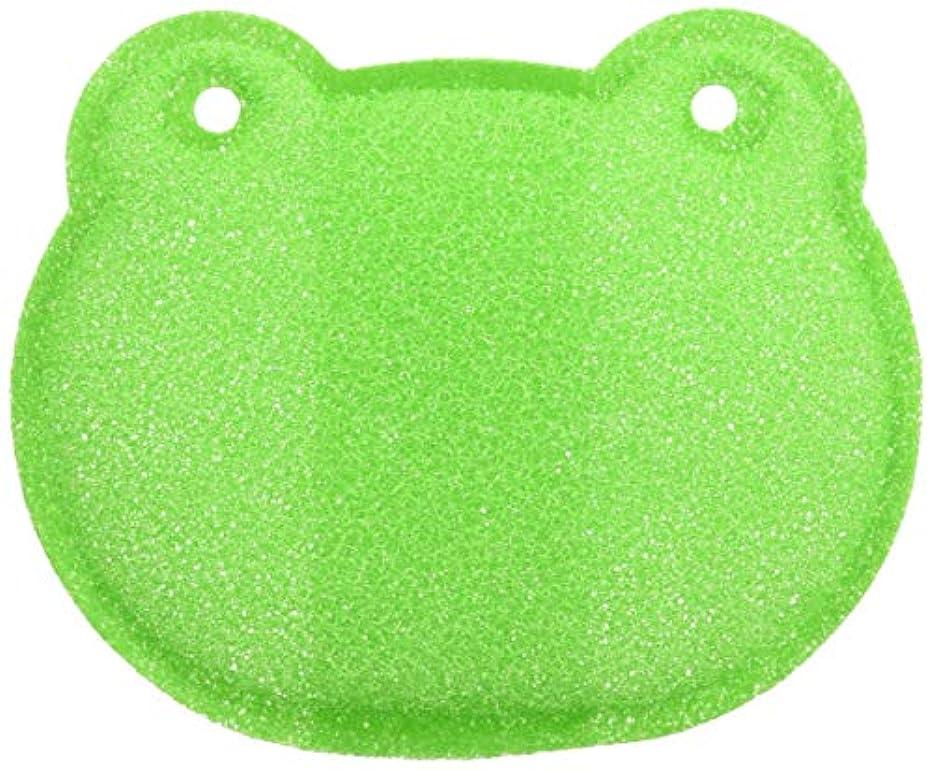 メナジェリーなかなか精通したアズマ 石鹸ネット 石けん生きカエル グリーン AZ958G