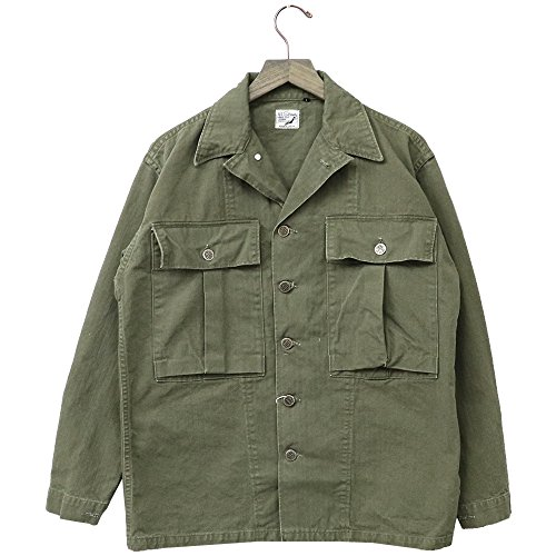 (オアスロウ) orSlow『US ARMY JACKET』(GREEN USED) (3(L), GREEN USED)