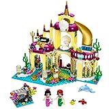 LEGO レゴ プリンセス 41063 互換 アリエルの海の宮殿 ミニフィグ付き