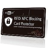MONOJOY 海外旅行用品 海外旅行犯罪防止 スキミング被害防止 スキミング犯罪防止 カード犯罪防止 スキミング防止カード スキムガード 電子犯罪防止 電子マネー犯罪防止 クレジットカード 銀行カード スキムガード RFID カード ICカード EMSカードなどをスキミング被害や電子マネースリから守るカード! (1枚入)