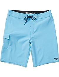 ビラボン スイムウェア スイムウェア All Day X Board Short - Men's Blue Heath [並行輸入品]