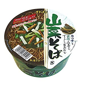 イトメン カップ山菜そば 80g