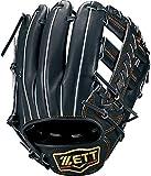 ゼット(ZETT) 軟式野球 グラブ (グローブ) プロステイタス セカンド・ショート用 右投げ用 ナイトブラック(1900N) 専用グラブ袋付き サイズ:3 BRGB30036