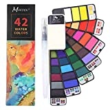 Each package contains 42 colours and 1 water brush pen.