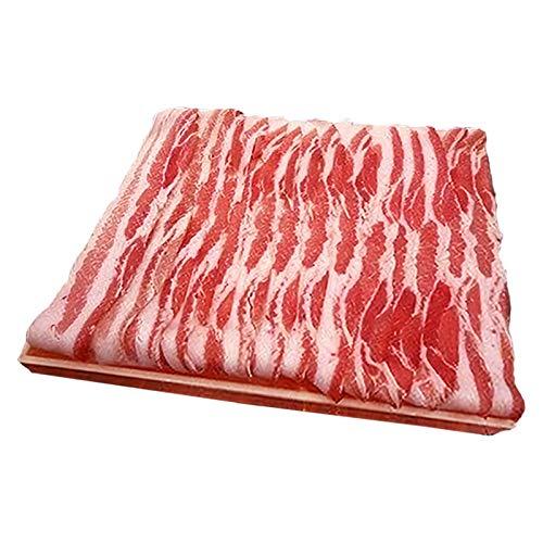 ギフト 沖縄県産ブランド肉 でいご豚 バラ しゃぶしゃぶ 500g ×2 上原ミート 淡いピンクの肉色 甘みとコクがありアクの出にくい豚肉
