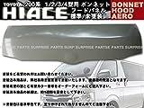 ハイエース 200系 1型 2型 3型 4型 ボンネット フードパネル 標準車 未塗装