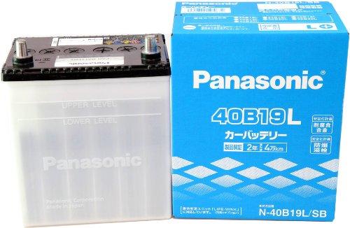 Panasonic (パナソニック) 国産車バッテリー [ SBシリーズ ] N-40B19L B002Y08LSC 1枚目