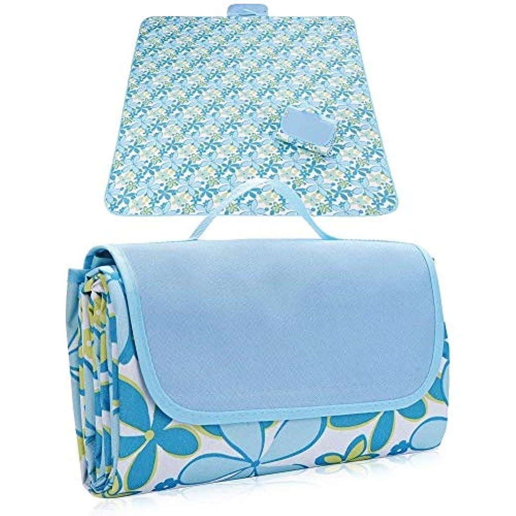 相続人チャーム換気するYBB レジャーシート 防水 保温 ピクニックシート 折りたたみ式 厚手 洗濯可能 持ち運び ブランケット 2-6人用 145×200cm