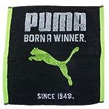 PUMA スポーツ PUMA プーマ[ハンドタオル]ジャガードウォッシュタオル/PUMA-1620 【ブラック(BK) 】