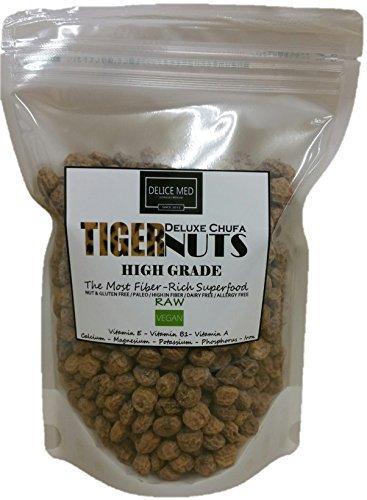 タイガーナッツ(皮付き) 500g スペイン産 (Tigernuts 500g From Spain)