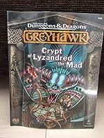 英版 AD&D Greyhawk Crypt of Lyzandred the Mad 9580