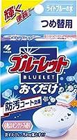 ブルーレットおくだけ 心地よいピンクソープの香り ライトブルーの水 つめ替用 ≪おまとめセット【6個】≫