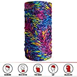 (Painting 5) - GOT 16-in-1 Headband - Multifunctional Microfiber Sports Headwear - Cycling, Running, Yoga, Fishing, Fashion - Breathable, Moisture Wicking - Works as Scarf, Face Mask, Neck Gaiter, Bandana, Balaclava
