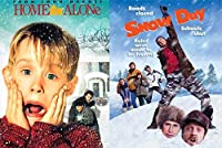 Home Alone & Snow Day Double Feature Winter Movie DVD Bundle Set【DVD】 [並行輸入品]