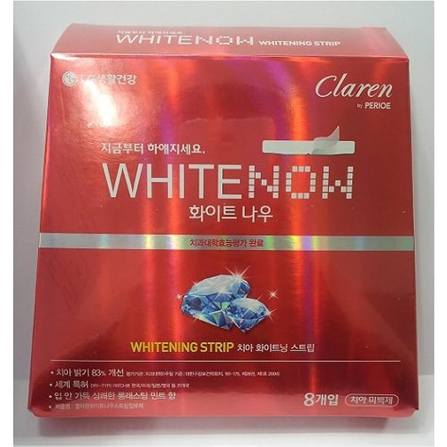 エスカレーター森ドレインLG生活健康 [LG Care] ホワイトナウ ホワイトニン.グ ストリップ(8枚入り) / White Now Whitening Strip ★歯ビハクステッカー★ [並行輸入品]