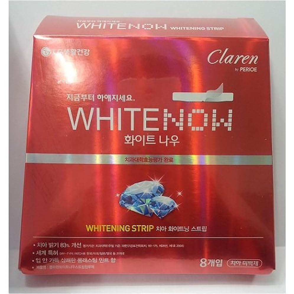 巨大マイルドフルーティーLG生活健康 [LG Care] ホワイトナウ ホワイトニン.グ ストリップ(8枚入り) / White Now Whitening Strip ★歯ビハクステッカー★ [並行輸入品]