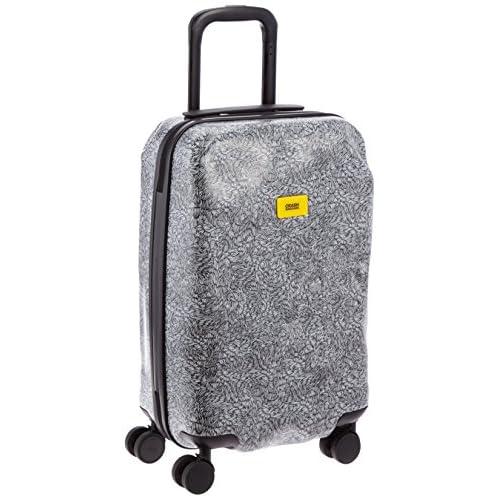 [クラッシュバゲッジ] CRASH BAGGAGE 取扱い注意不要スーツケースSURFACE 機内持ち込みサイズTSAロック搭載 CB121 30 (WHITE FUR)