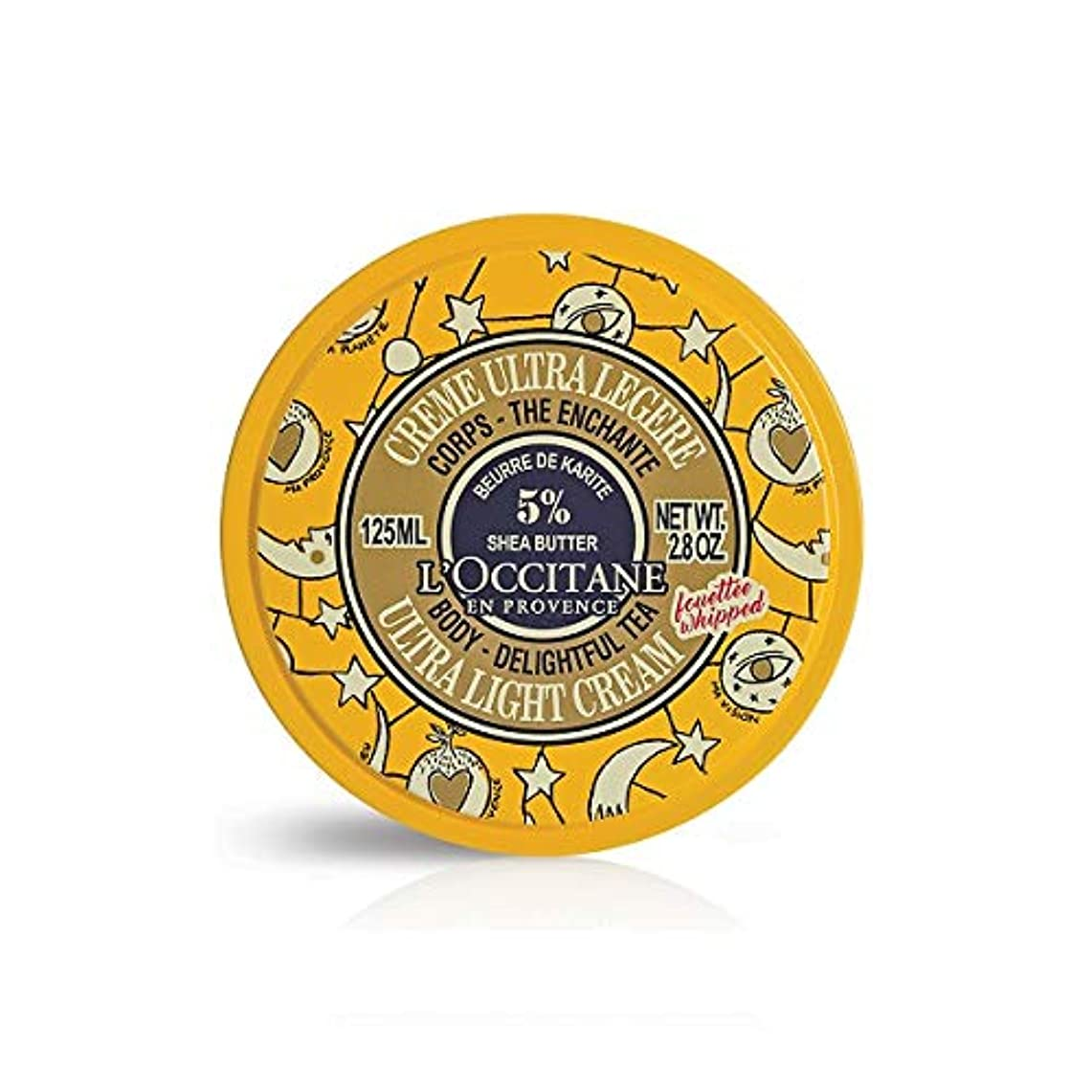 伝統まだ狂人ロクシタン(L'OCCITANE) ジョイフルスター スノーシア ボディクリーム(ディライトフルティー) 125ml
